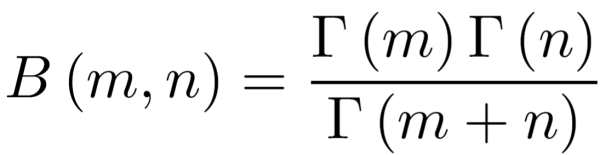 ベータ関数とガンマ関数