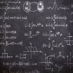 数式on黒板