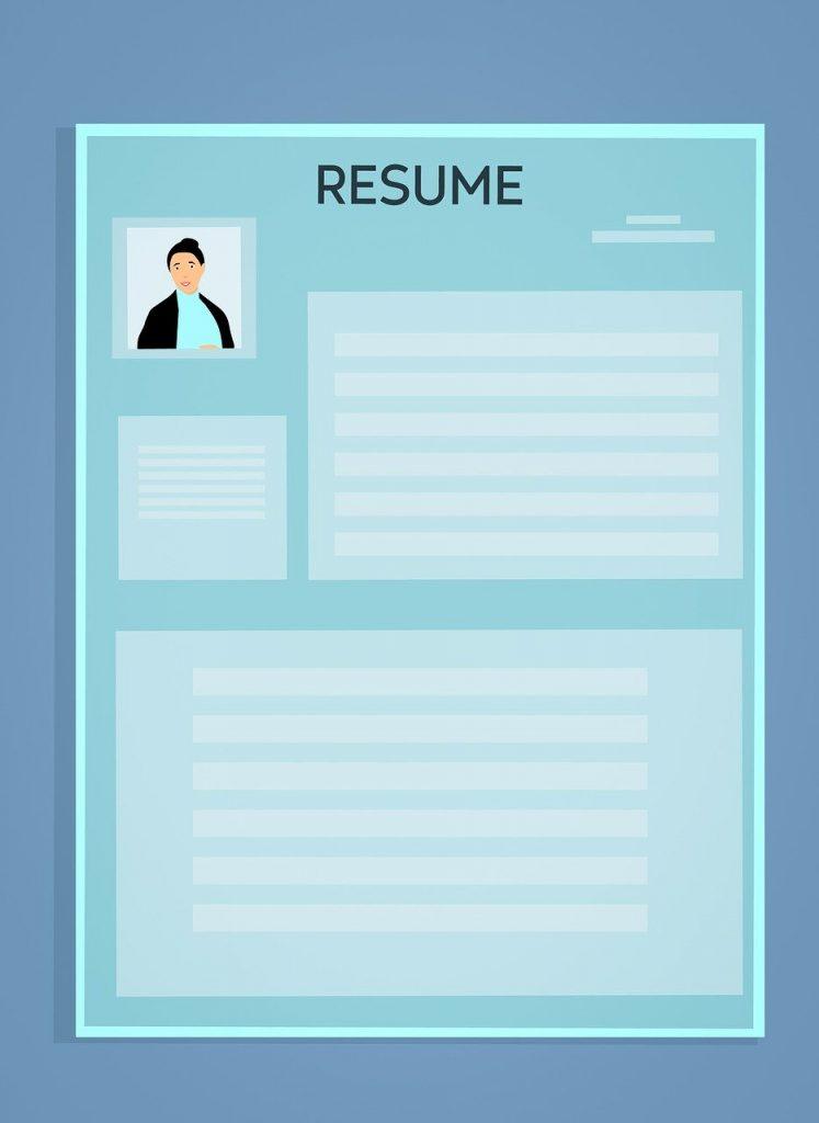 履歴書のイメージ